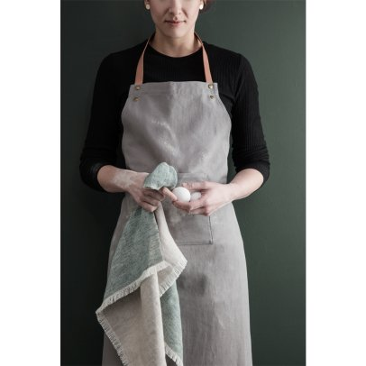 Ferm Living Blend Cotton and Linen Tea Towel-listing