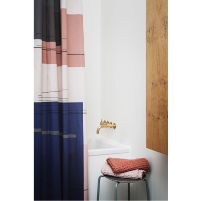 Ferm Living Rideau de douche Colour Block-listing