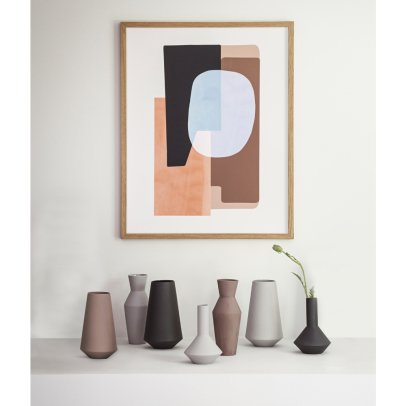 Ferm Living Vase Well en porcelaine-listing