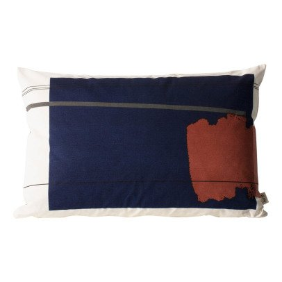 Ferm Living Colour Block n°1 Organic Cotton Cushion With Removable Cover-product