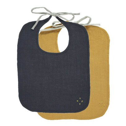 Camomile London Reversible Bibs - Set of 2-listing