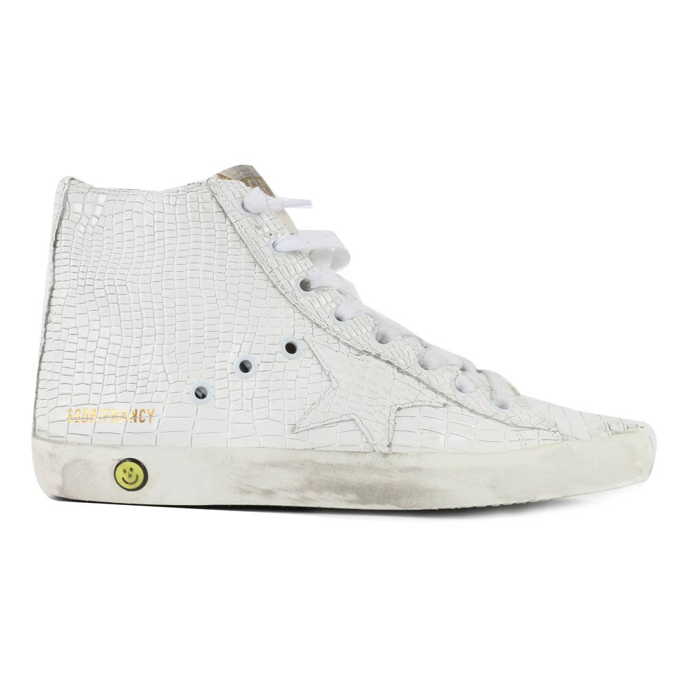 Sale - Francy Snake Zip and Lace-Up Trainers - Golden Goose Deluxe Brand Golden Goose Outlet Store Online From China Buy Cheap New Manchester Great Sale Online 2018 Online QOzgTEclgd