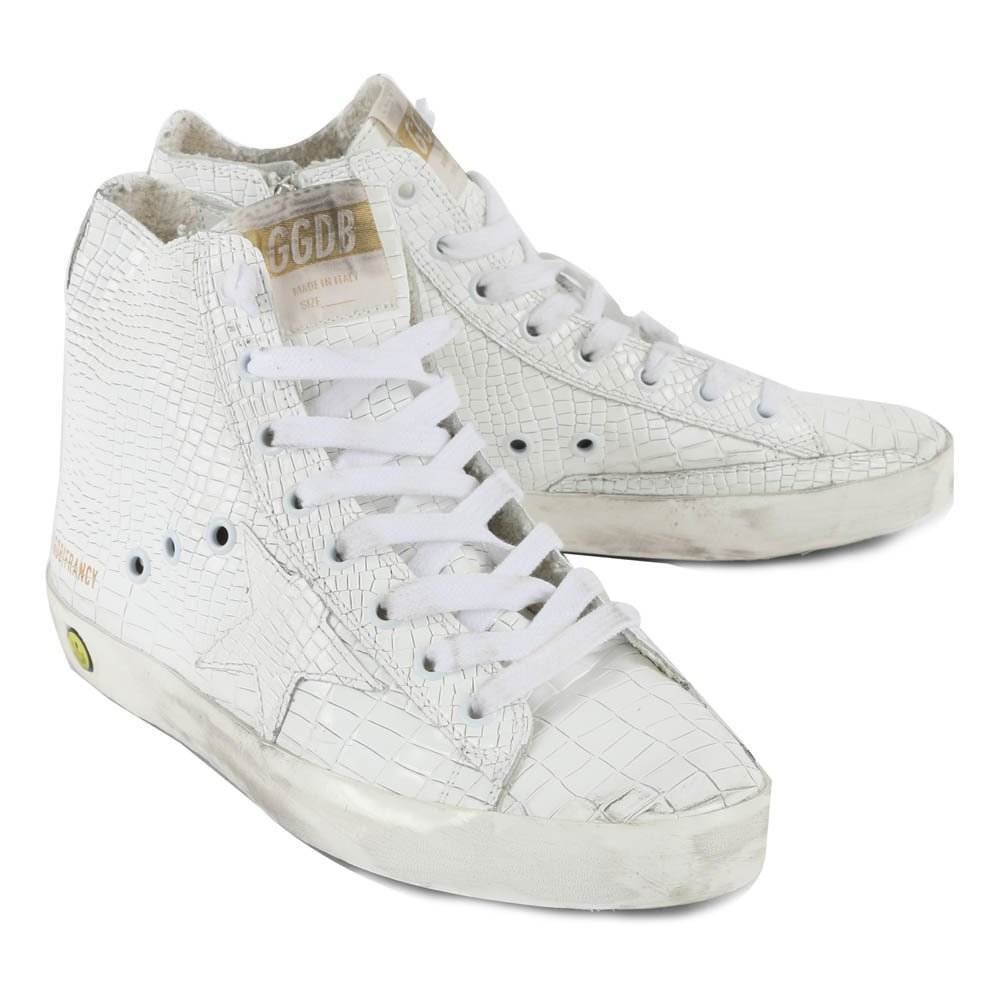 Baskets Lacets Zip Serpent Francy - Golden Goose Deluxe Brand