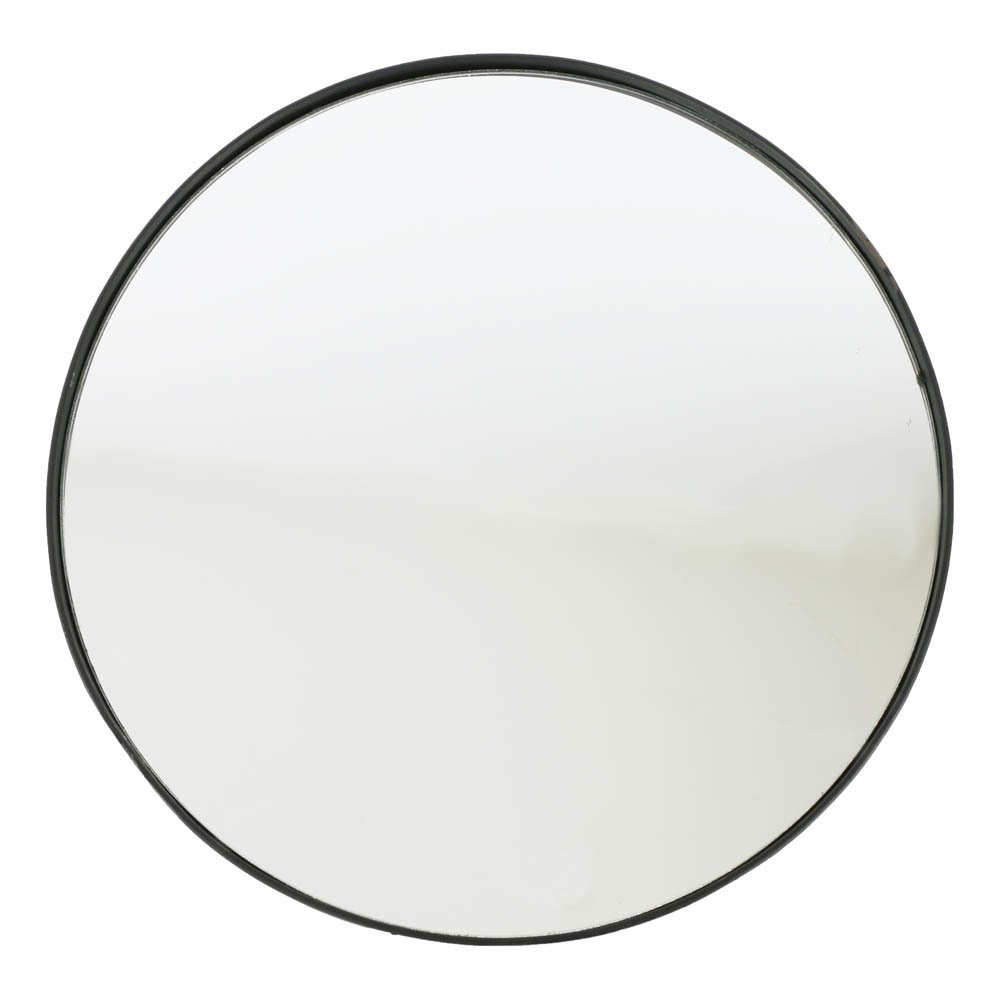Miroir rond en fer forg noir smallable home design adulte for Miroir fer noir
