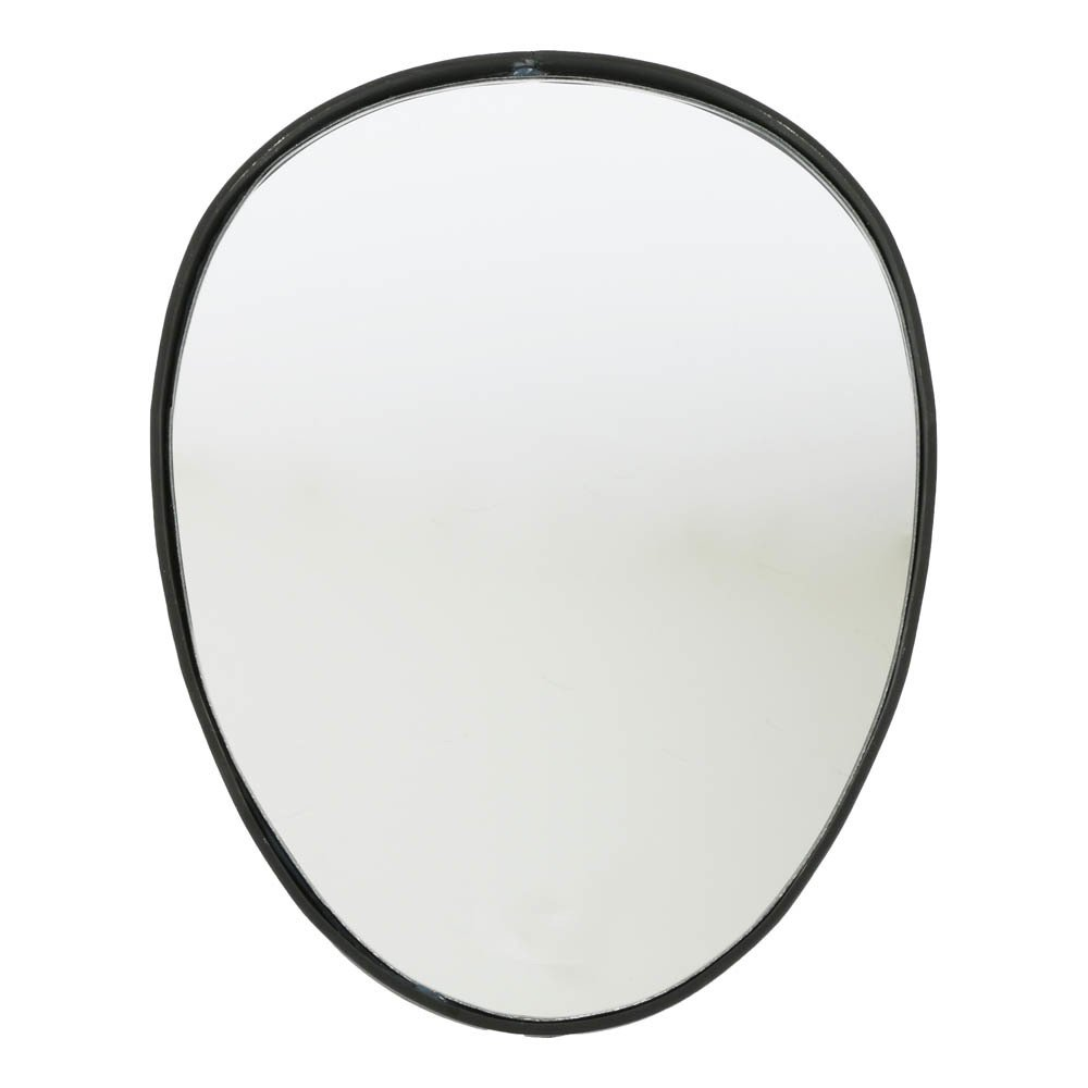 Miroir oeuf en fer forg noir smallable home design adulte for Miroir fer noir