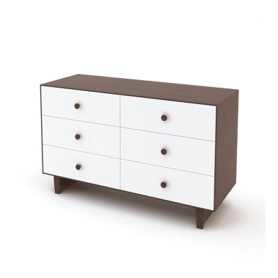 Oeuf NYC Commode 6 tiroirs Merlin base Sparrow-listing