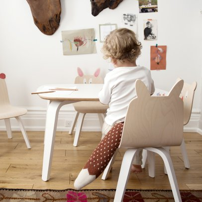 Oeuf NYC Rabbit Play Chairs - Set of 2-listing