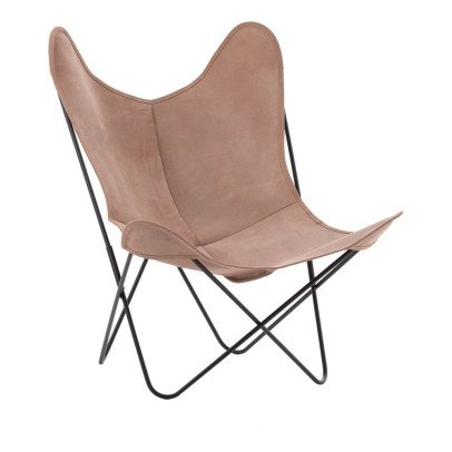 Airborne AA Steel Varnished Armchair, Velvet Outdoor Cover-listing