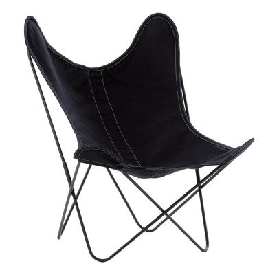 Airborne AA Steel Varnished Armchair, Washable Outdoor Cover-listing