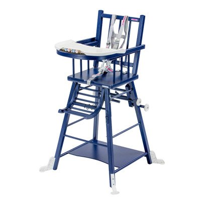 Combelle Convertible High Chair - Varnished-listing