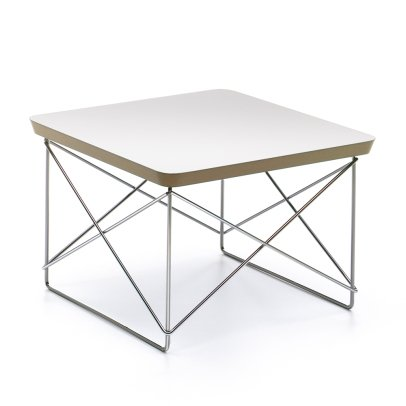 Vitra Tavolino Occasional LTR - Gambe cromate - Charles & Ray Eames, 1950-listing