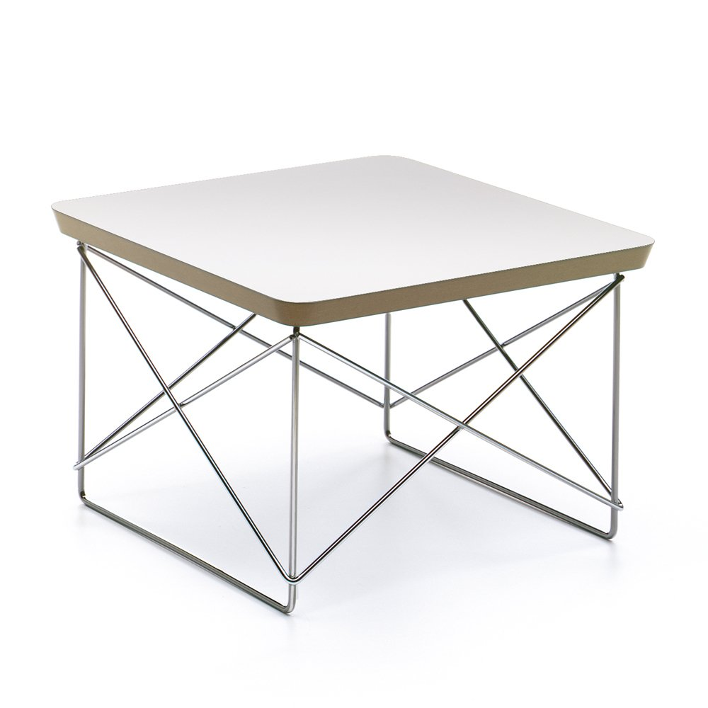 occasional table ltr charles ray eames 1950 white vitra design. Black Bedroom Furniture Sets. Home Design Ideas