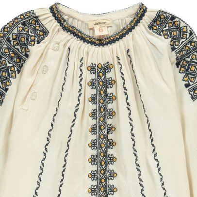 Bellerose Ichi Embroidered Blouse-listing