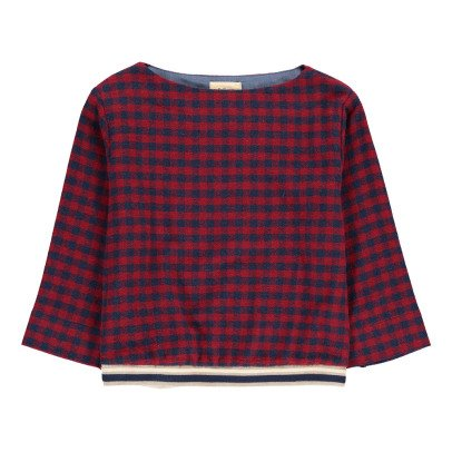 Bellerose Aimi Checked Blouse-listing
