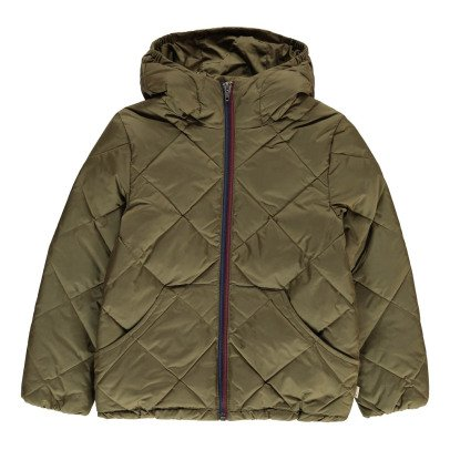 Bellerose Hiro Quilted Jacket with Hood-product