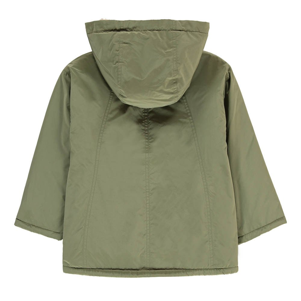 Linen Hooded Parka-product