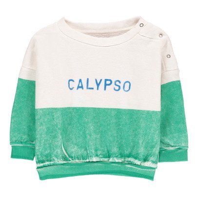 Bobo Choses Organic Cotton Calypso Sweatshirt-listing