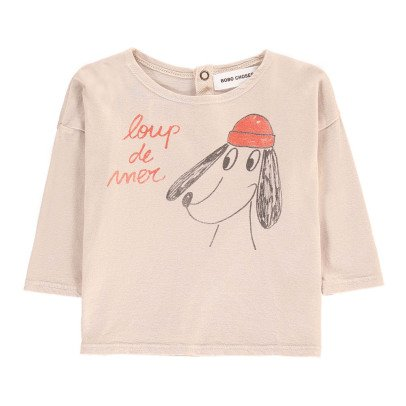 Bobo Choses Organic Cotton Sea Dog T-Shirt-listing
