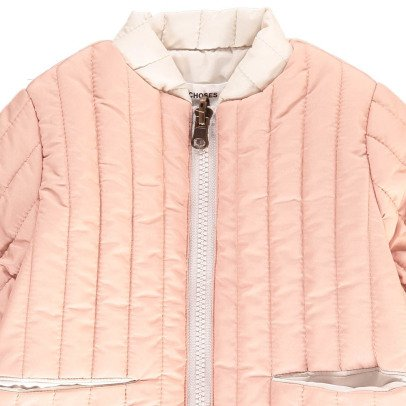 Bobo Choses Waterproof Reversible Quilted Jacket-listing