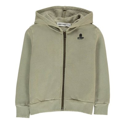 Bobo Choses Organic Cotton Octopus Hoodie-listing
