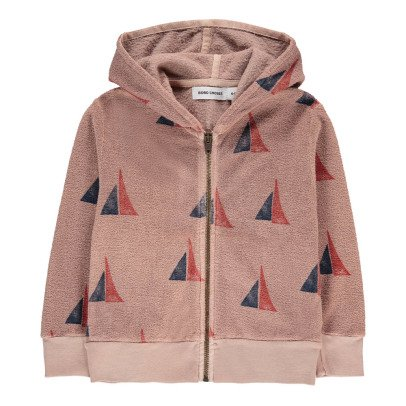 Bobo Choses Organic Cotton Boat Hoodie-listing