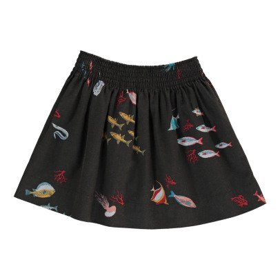 Bobo Choses Organic Cotton Seabed Skirt-listing