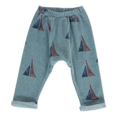 Bobo Choses Organic Cotton Boat Harem Jogging Bottoms-listing