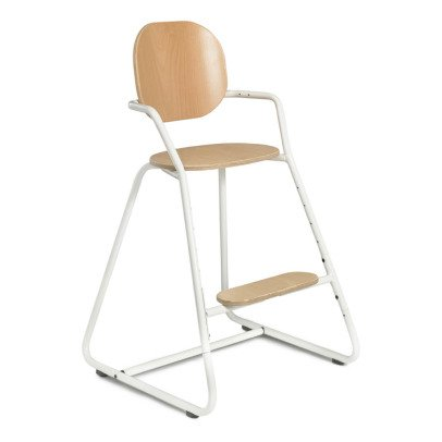 Charlie Crane Tibu Convertible High Chair With Table, Wood & Metal Structure, Leather Leg Strap-listing