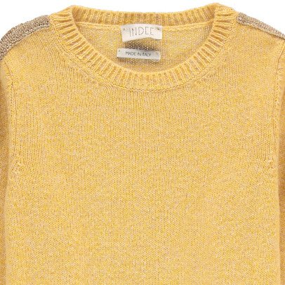 Indee Bangkok Lurex Band Flecked Jumper-product