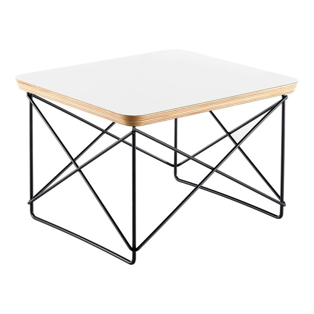Occasional table ltr charles ray eames 1950 white vitra design - Eames occasional table ...