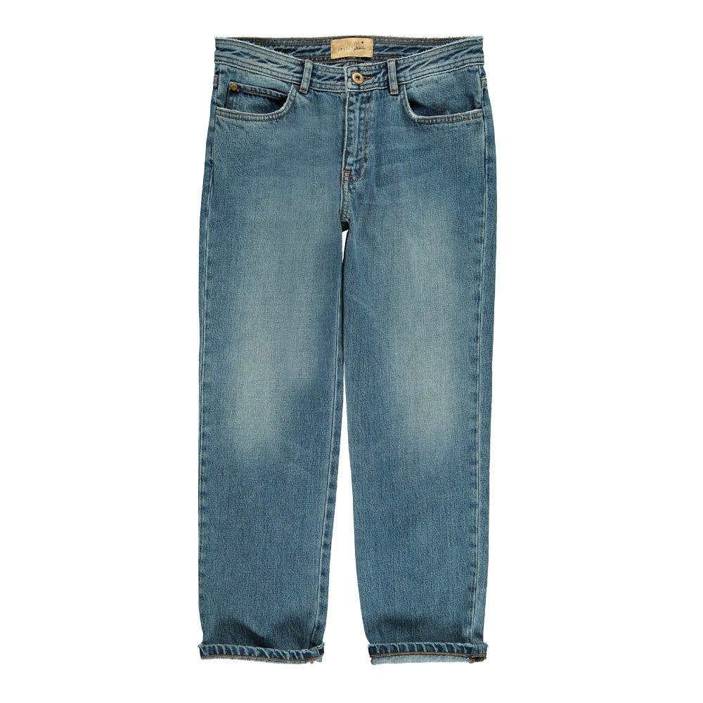 Jeans Boyfriend Santi Dad Denim Sessun Mode Erwachsene