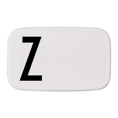 Design Letters Lunch-box- Z-listing
