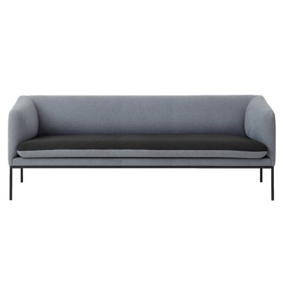 Ferm Living Cotton 3 Seat Sofa-listing
