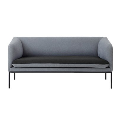 Ferm Living Cotton 2 Seat Sofa-listing