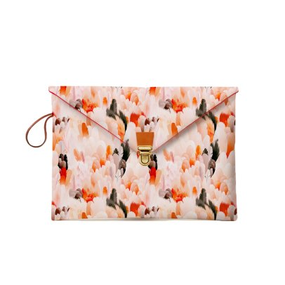 Maison Baluchon Pochette Macbook 13'' Plumes Sauvages-product