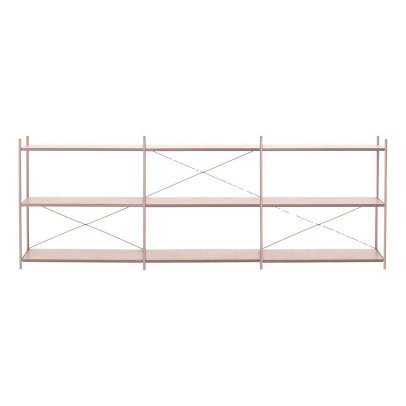 Ferm Living Punctual Low Metal Shelf 3x3-listing