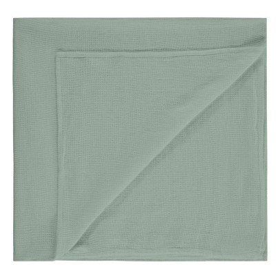 Communauté de biens Honeycomb Washed Linen Bath Towel-listing