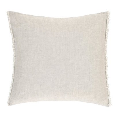 Communauté de biens Washed Linen Square Cushion-listing