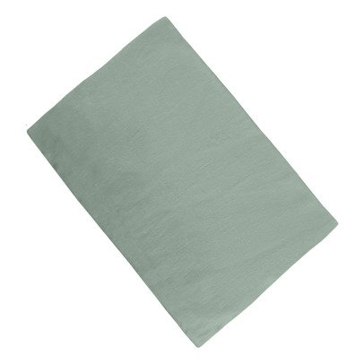 Communauté de biens Washed Linen Fitted Sheet-listing