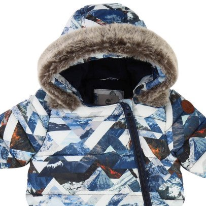 Timberland All-Over Print Hooded Snowsuit-listing