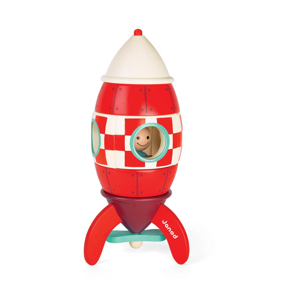 fus e g ante magn tique rouge janod jouet et loisir enfant. Black Bedroom Furniture Sets. Home Design Ideas