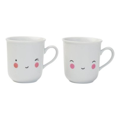 A little lovely company Happy Mugs - Set of 2-listing