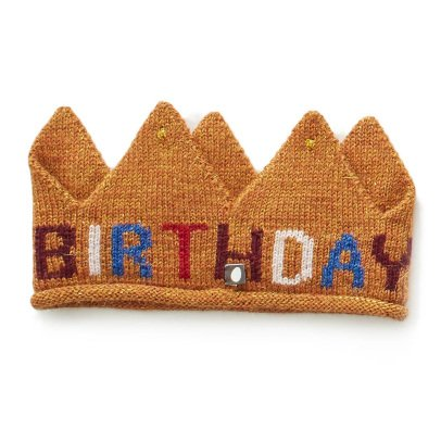 Oeuf NYC Alpaca Wool Birthday Crown-listing
