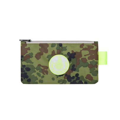 Leçons de choses Camouflage Flat Pencil Case-listing