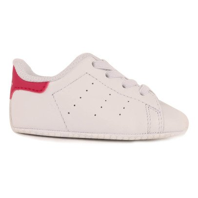 Adidas Crib Stan Smith Elasticated Lace-Up Slippers-listing