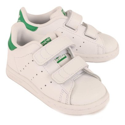 Adidas Two Strap Velcro Stan Smith Trainers-listing