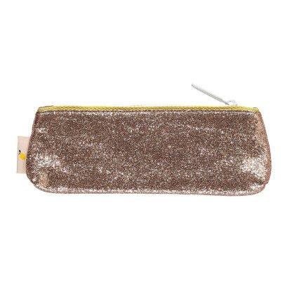 Sticky Lemon Glitter Pencil Case-listing