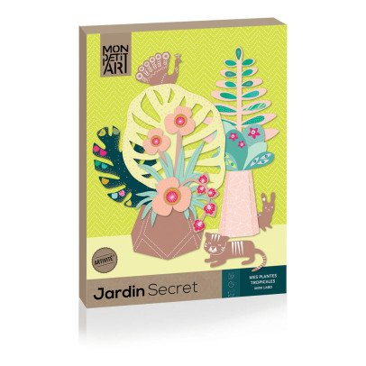 Mon Petit Art My Tropical Plant Secret Garden-product