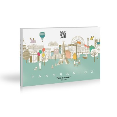 Mon Petit Art Paris Panoramic Colouring Picture-product