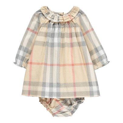 Sale - Tartan Cherrylina Combo Dress - Burberry Burberry Rl2na0xvm